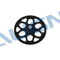 180T M0.6 Autorotation Tail Drive Gear set-Black 550E/600E/600N (OLD NO:H60020A) (H60020AAT)