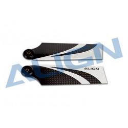 70 Carbon Fiber Tail Blade/Pales anticouple T-REX 500 (HQ0700CT)