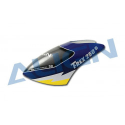 T-Rex 250 - 250 Painted Canopy/Blue (H25002)