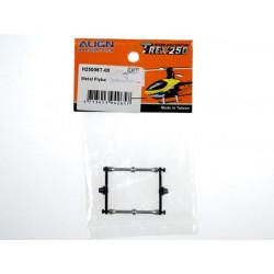 T-Rex 250 - Metal Flybar Control Set/Black (H25006T-00)