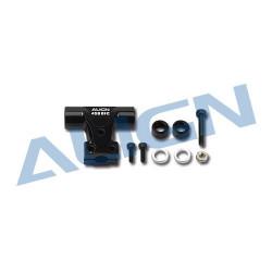 Main Rotor Housing Set/Black - Moyeu de tête rotor Noir - T-rex 450 DFC (H45190T)