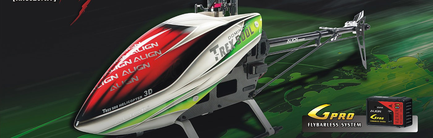 Align Trex 500L Dominator